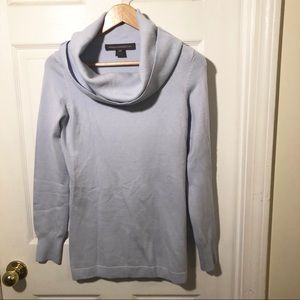 French Connection Light Blue cowl neck sweater